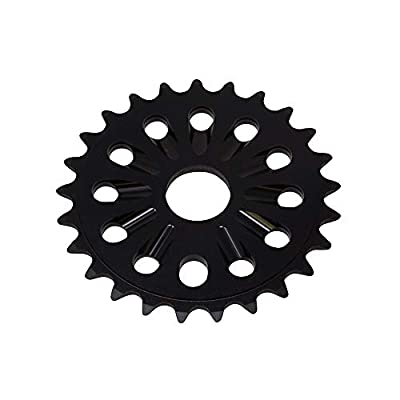 Fenix Alloy 6061-T6 BMX 25T Sprocket/Chaining 1/2 X 1/8, (Black)