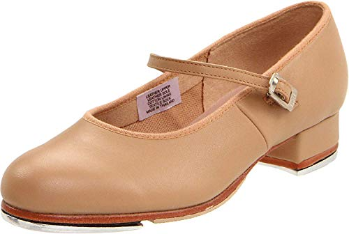 Bloch womens Tap-on dance shoes, Tan, 6.5 US