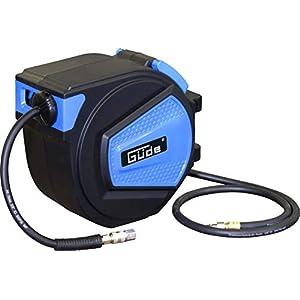 Güde 2882 Tambor de manguera automático, Azul