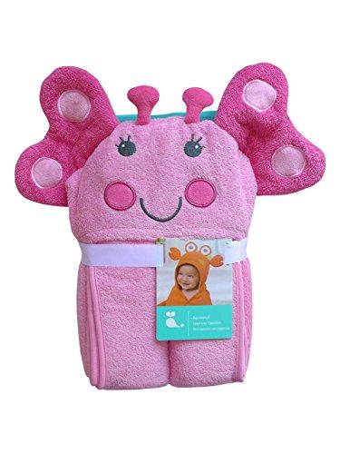 Lustiges Kapuzenhandtuch ~ Schmetterling ~ Badetuch Kapuzenbadetuch Baby Handtuch