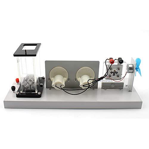 MaxLab Reversible Brennstoffzelle und Elektrolyseur, Wasserstoff-Sauerstoff-Generator-Kit Unterrichtsmittel Hightech-Spielzeug für Wissenschaft und Bildung,Large