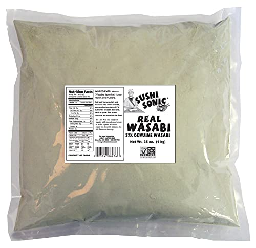 Sushi Sonic 51% Real Wasabi Powder (35 oz)