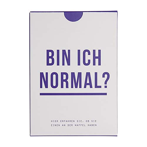 BIN ICH NORMAL? | KARTENSET | Deutsche Edition | The School of Life