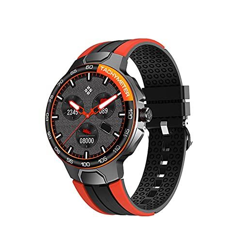 N \ A Intelligente Uhren für Männer, 1,28-Zoll-Touchscreen, wasserdichter IP68-Schrittzähler, intelligente Uhr für Android- und iOS-Telefone, Uhr mit Schlafmonitor