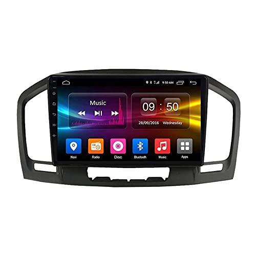 9 pollici Android 8.1 Autoradio Stereo Head Unit per Buick Regal/Opel Insignia 2009 – 2013, GPS / Bluetooth/FM/RDS/controllo volante/telecamera posteriore