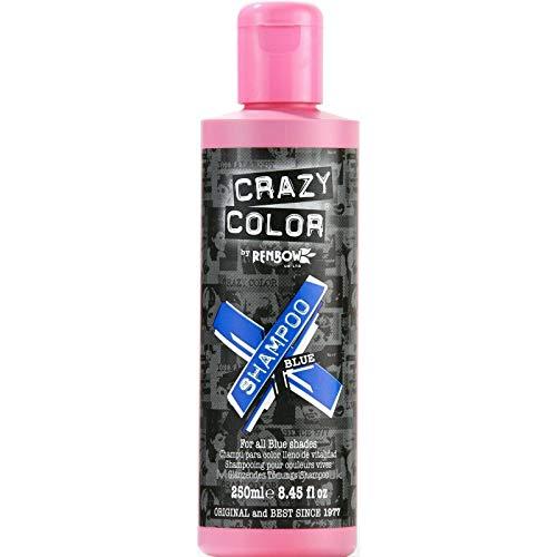 Shampooing pour cheveux colorés 250 ml (Bleu) de Crazy Color