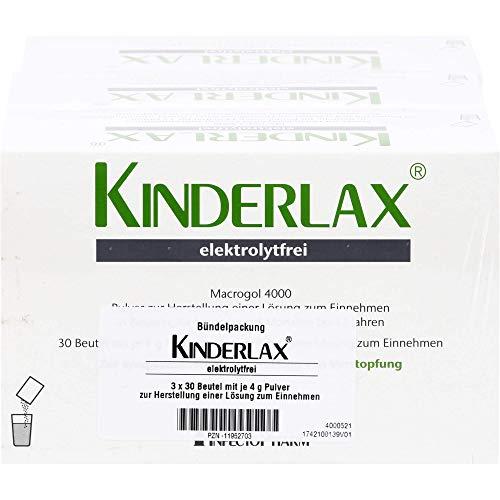 KINDERLAX elektrolytfrei zur symptomatischen Behandlung von Verstopfung, 90 St. Beutel