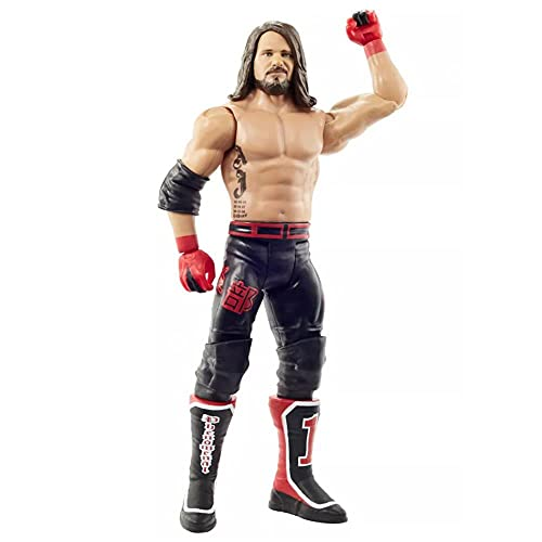 WWE AJ Styles Top Picks 6-inch Action Figures with Articulation & Life-Like Detail