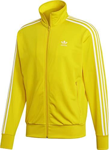 adidas Originals Sweatjacke Herren Firebird TT ED6073 Gelb, Größe:M