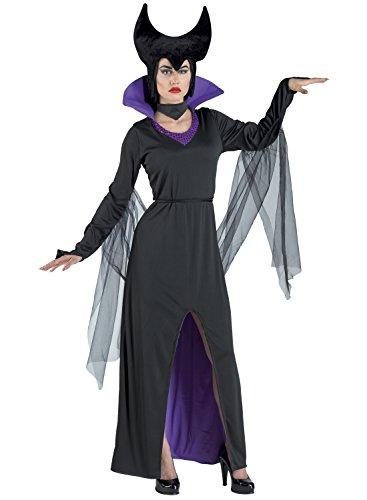 chiber - Costume da Strega Malefica da Donna