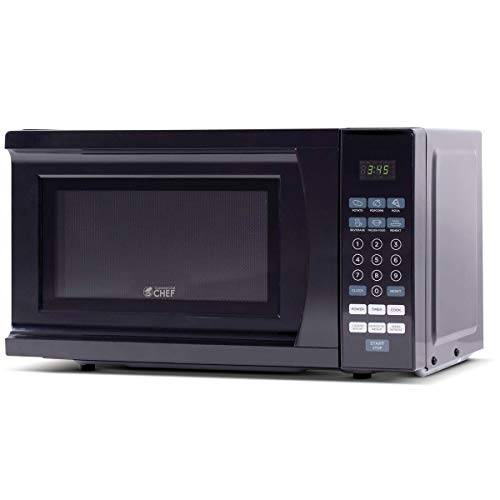 Westinghouse WCM770B 700 Watt Counter Top Microwave Oven, 0.7 Cubic Feet, Black Cabinet