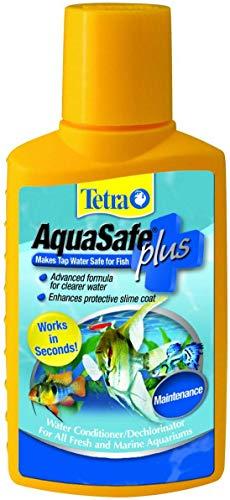 Tetra AquaSafe Plus 3.38 Ounces, Aquarium Water Conditioner And Dechlorinator