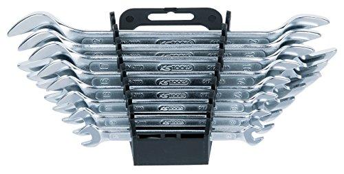 KS Tools 517.0148 CLASSIC Doppel-Maulschlüssel-Satz, 8-tlg., 6x7-20x22mm