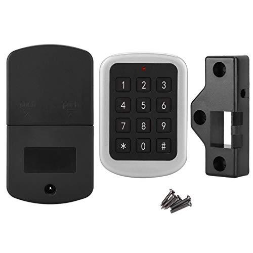 Snufeve6 Cerradura electrónica, Sistema de Seguridad para el hogar Cerradura con código, para armarios, zapateros, armarios, cajones