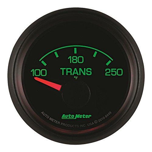 Auto Meter 2640 Z-Series 2-1//16 Short Sweep Electric Transmission Temperature Gauge