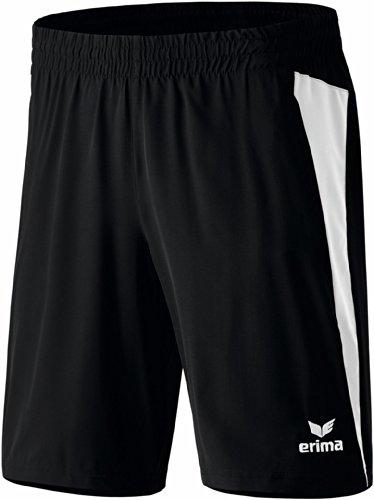 erima Kinder Shorts Premium One, Schwarz/Weiß, 152