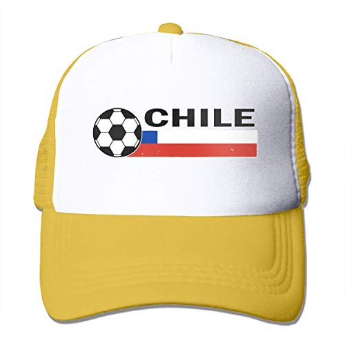 Chile Flag Soccer Football Adjustable Mesh Trucker Baseball Cap Men Women Hip-Hop Hat Fashionable1718
