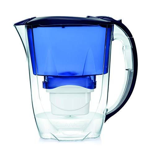 Aqua Optima Oria-Caraffa filtrante per Acqua, 2,8 Litri, Blu, 256x122x266