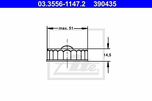 ATE 03.3556-1147.2 Verschluss, Bremsflüssigkeitsbehälter