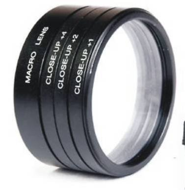 Numex 52mm Close Up Lens Filter Kit For Nikon D3000/D3200/D40/D3300