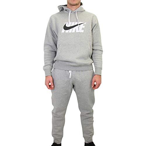 Nike Sportswear Survêtement Homme, Gris foncé chiné, S