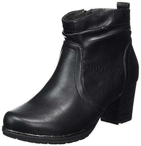 Jana Softline Damen 8-8-25361-25 Stiefelette, Black, 41 EU