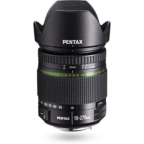 Pentax SMC DA18–270mm F3.5–6.3SDM Ziel 414mm schwarz
