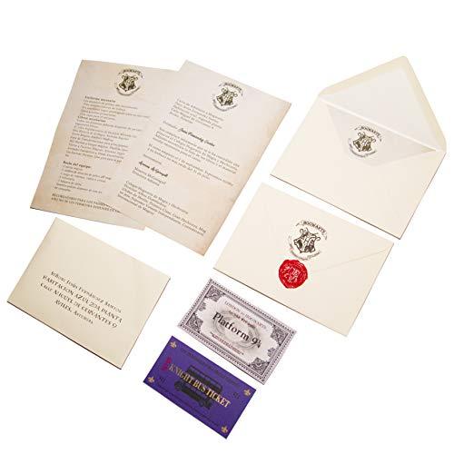Rak Mark Carta aceptación Hogwarts en Castellano Personalizada Escuela de Magia