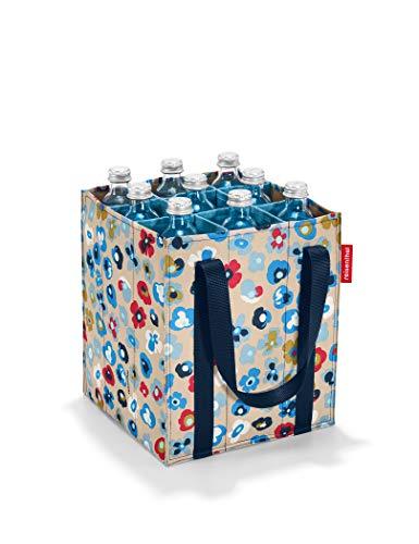 reisenthel bottlebag Flaschentasche 9 Fächer - 24 x 28 x 24 cm millefleurs