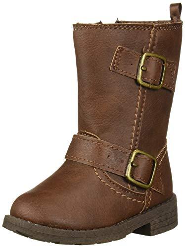 Carter's Girl's Boot, Brown, 10 M US Toddler