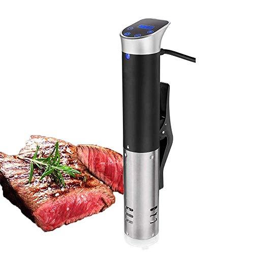 YFGQBCP Sous Vide precisión Cocina, Inmersión de circulación con Pantalla LCD Digital, Temporizador de Control preciso de la Temperatura, Conveniente for cocinar Carne y Verduras