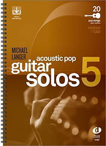 Acoustic Pop Guitar Solos 5: Noten & TAB - easy/medium