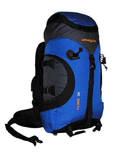 Urban Rock Climb 30 Sac à Dos de randonnée Noir/Bleu 1000 g