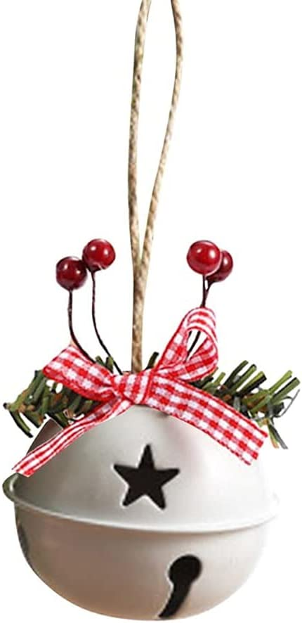 NDBSS 3pc Jingle Bells Christmas Tree Ornament Metal Max 75% OFF H price Bell