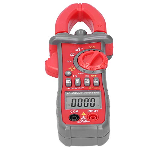 Multímetro, Probador de Voltaje, Pinza Amperimétrica TDC531D, Instrumento Probador de Resistencia de...