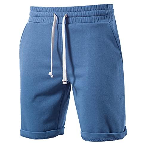 N\P Pantalones Cortos De Algodón Suave De Los Hombres De Verano Casual Estancia De Casa De