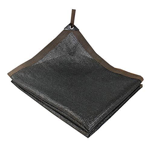 Geovne Shading Net Negros,Malla Sombreadora UV Resistente a Los,Tela de Sombra Antracita,Sombra Paño para Plantas de Flores de Jardín para Invernaderos,Disponible en 35 Tamaños (8x10m)