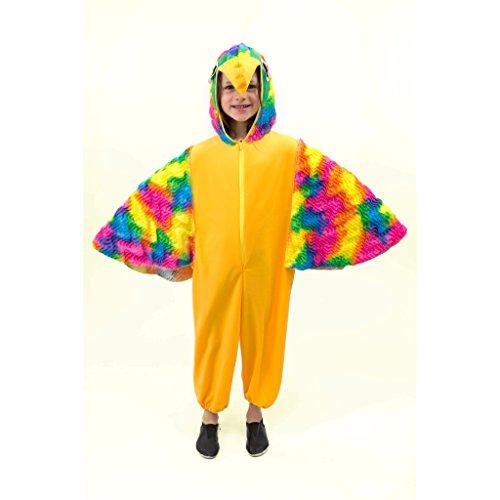 Krause & Sohn Costume Perroquet Pitti, Taille 104, Carnival Costume d'animal Oiseau Zoo Jungle Enfants