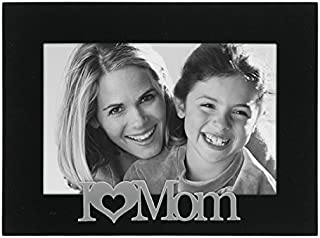 Malden International Designs I love Mom Expressions Picture Frame, 4x6, Black