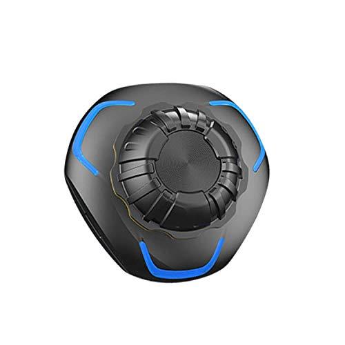 Auriculares AUTO para casco de motocicleta, auriculares Bluetooth con gran calidad de sonido, radio FM, reproductor de MP3 con gran calidad de sonido, (1 paquete con micrófono suave)