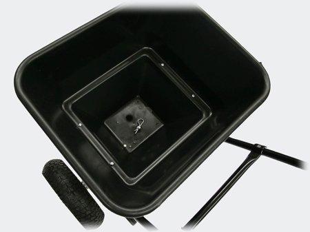 Streuwagen 30kg mit Luftreifen für Salz Dünger Saatgut Streusalz;;;;; - 3