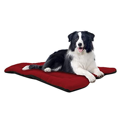 TFENG Hundebett, Waschbar Soft Plüsch Hundematte Hundekissen, Comfort Matte Hundedecken für Hunde, Katze, Kleinetier
