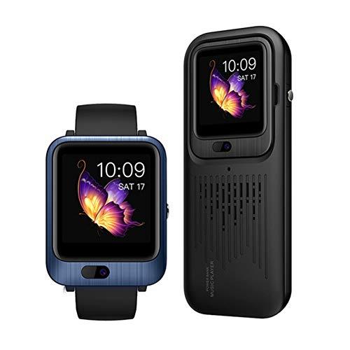 Smart Watch 4G Android 7.1 Ondersteuning Camera WIFI GPS met 1200mah Power Bank draadloze Bluetooth-luidspreker