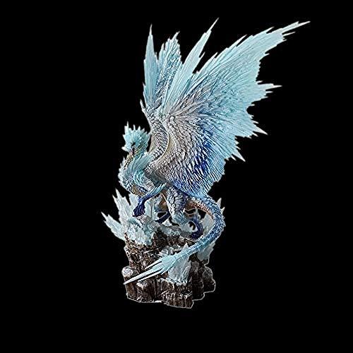 WSQT Japan Game Monster Hunter World: Iceborne Figure Bingzhou PVC Models Hot Dragon Figura de acción Decoración Modelo de Juguete