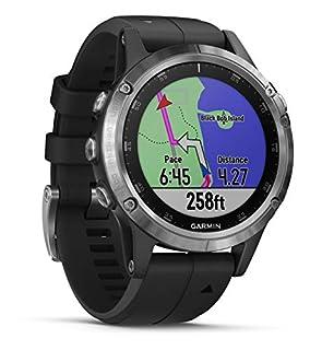 Garmin Fenix 5 Plus Silver Bracelet Noir - Montre GPS Multisports avec cartographie, Musique, paiement sans Contact (B07DKMTF2K) | Amazon price tracker / tracking, Amazon price history charts, Amazon price watches, Amazon price drop alerts