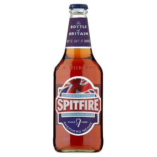 Shepherd - Naeme Spitfire Kentish Ale Bier 4,5% Vol. - 0,5l inkl. Pfand
