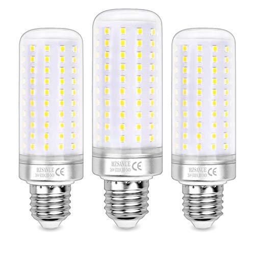Hzsanue LED Ampoules 26W, 200W Ampoules à incandescence équivalentes, 2600Lm, 6000K Blanc Froid, E27 Vis Edison, Paquet de 3