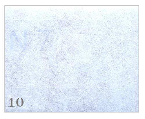 10filtros de repuesto Filtro para Meltem Classicline a partir de 99–200x 160mm–Filtro clase G2–VF de cl V de II VF