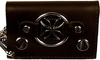 iron cross chain wallet