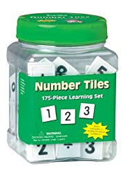 Eureka Tub Of Number Tiles